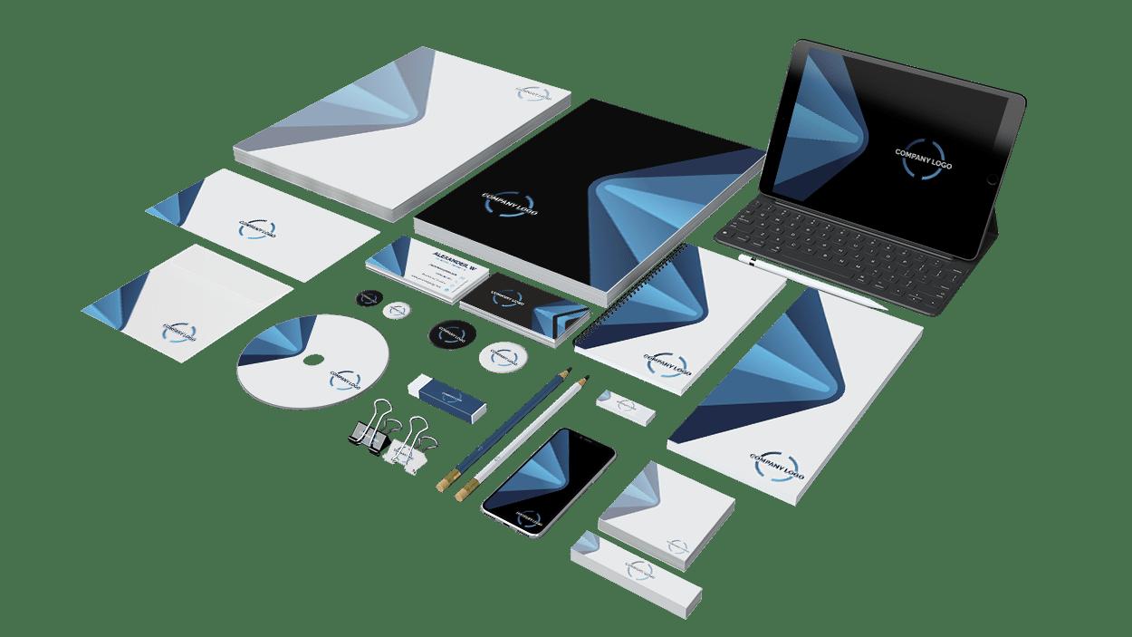 Branding y diseño de papelería corporativa