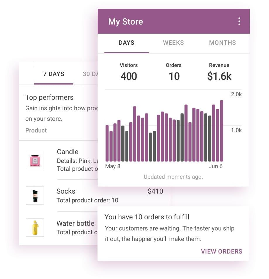 maneja tu tienda en linea desde tu celular