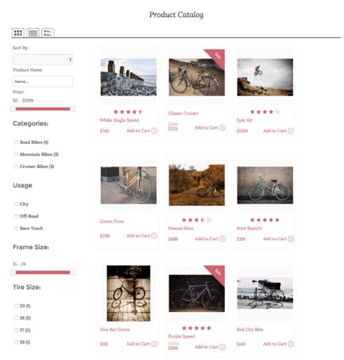 diseño de catalogo de tienda online en mexico