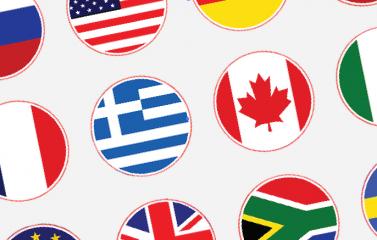 banderitas de paises para traducción de páginas web